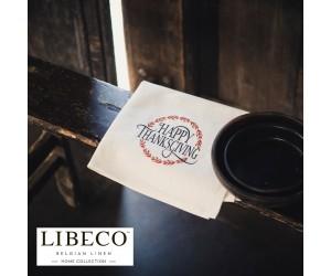 Libeco Servietten Set PrintsThanksgiving (6 Stück)