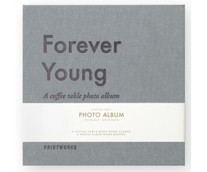 "Printworks kleines Coffee Table Photo Album ""Forever Young"""
