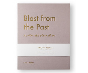 "Printworks Coffee Table Photo Album ""A Blast from the Past"""