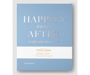"Printworks Coffee Table Photo Album ""Happily Ever After"""