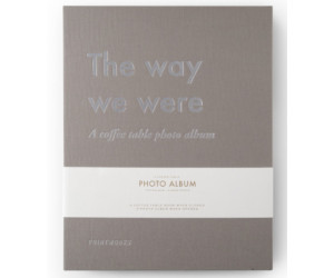 "Printworks Coffee Table Photo Album ""The Way We Were"""