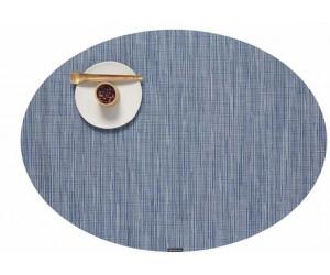 Chilewich - 4-er Set BAMBOO oval 36 x 49,5 cm - Rain