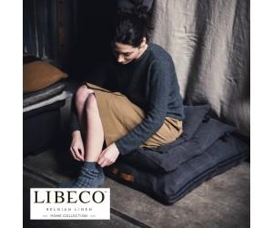 Libeco Sitzkissen Rand arabica