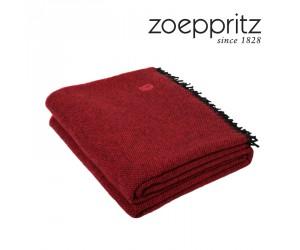 Zoeppritz Decke Relax rot-355