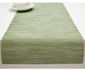 Chilewich Tischläufer Bamboo spring green (36x183 cm)