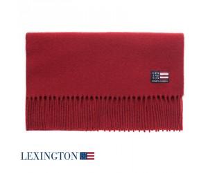 Lexington Schal Wool Massachusetts red dahlia