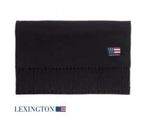Lexington Schal Wool Massachusetts caviar black