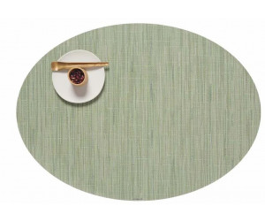 Chilewich - 4-er Set BAMBOO oval 36 x 49,5 cm - Seaglass