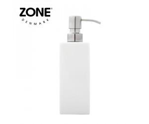 Zone Seifenspender white glossy