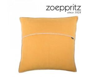 Zoeppritz Dekokissen Soft-Fleece safran-170