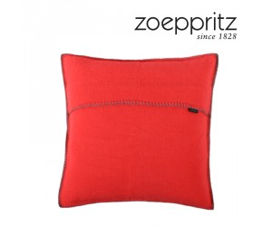 Zoeppritz Dekokissen Soft-Fleece neon orange-255