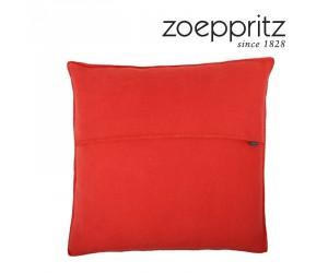 Zoeppritz Dekokissen Soft-Fleece dark chilli-281