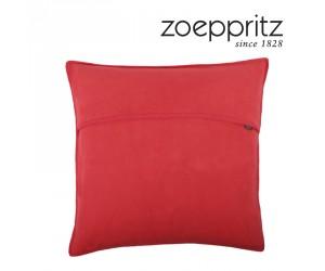 Zoeppritz Dekokissen Soft-Fleece geranium-355