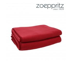 Zoeppritz Plaid Soft-Fleece garnet