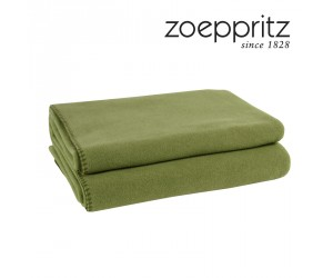 Zoeppritz Plaid Soft-Fleece jade