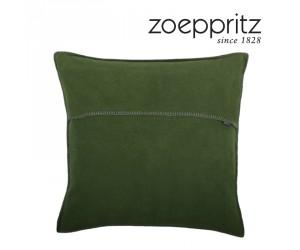 Zoeppritz Dekokissen Soft-Fleece smaragd-661