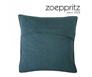 Zoeppritz Dekokissen Soft-Fleece dark ocean-795