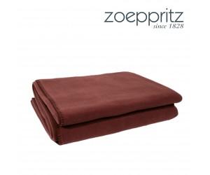 Zoeppritz Plaid Soft-Fleece chocolate