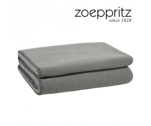 Zoeppritz Plaid Soft-Fleece titanium