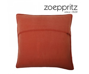 Zoeppritz Dekokissen Soft-Fleece chilli