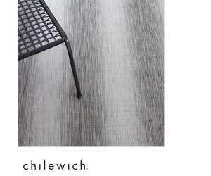 Chilewich Teppich Shade chrome