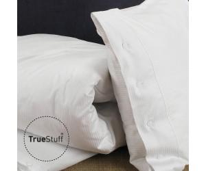 TrueStuff Bettwäsche Silverstripe weiß