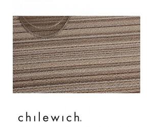 Chilewich Teppich Skinny Stripe mushroom