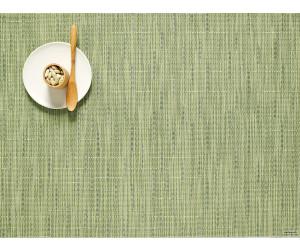Chilewich Tischset Bamboo rechteckig spring green