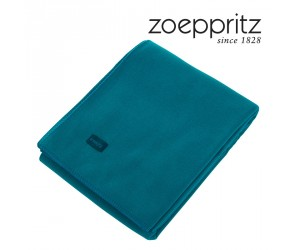 Zoeppritz Plaid Soft-Fleece curacao (160 x 200 cm)