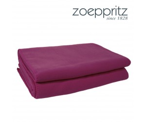 Zoeppritz Plaid Soft-Fleece fuchsia dunkel