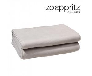 Zoeppritz Plaid Soft-Fleece clay (in 2 Größen)