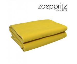 Zoeppritz Plaid Soft-Fleece curry (in 2 Größen)