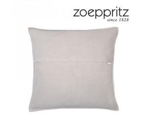 Zoeppritz Dekokissen Soft-Fleece clay