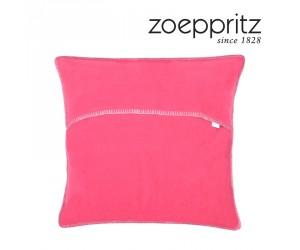 Zoeppritz Dekokissen Soft-Fleece deep pink