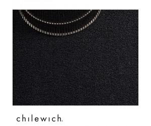 Chilewich Teppich Solid black