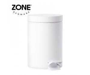 Zone Pedaleimer Solo white