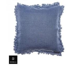 Himla Dekokissen Soul of Himla blau 40 x 40 cm
