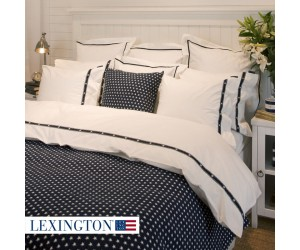 Lexington Tagesdecke Star navy