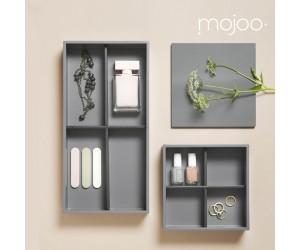 Mojoo Lacktablett rechteckig  medium cool grey
