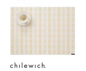 Chilewich Tischset Stitch canary