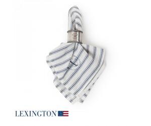 Lexington Serviette Striped blau/ weiß
