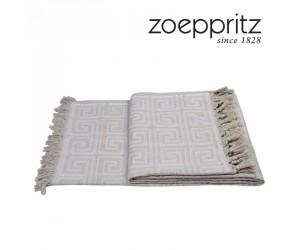 Zoeppritz Plaid Sunny Leg weiß (150 x 200 cm)