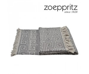 Zoeppritz Plaid Sunny Leg schwarz (150 x 200 cm)