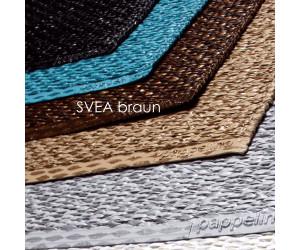 Pappelina Outdoor Teppich/Läufer 70x150 cm metallic/ braun