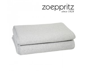 Zoeppritz Plaid Soft-Wool cloud-910