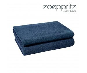 Zoeppritz Plaid Soft-Wool blau