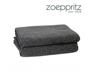 Zoeppritz Plaid Soft-Wool schwarz