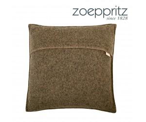 Zoeppritz Dekokissen Soft-Wool holz