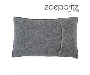 Zoeppritz Dekokissen Soft-Wool titanium