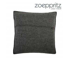 Zoeppritz Dekokissen Soft-Wool schwarz
